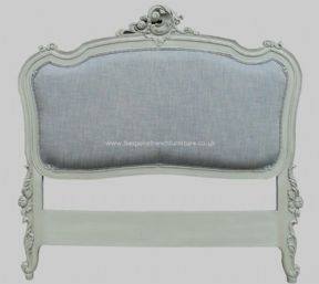 Rococo Upholstered French Headboard Double